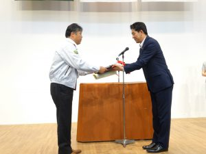 安全衛生優良表彰 株式会社ナカムラ 様