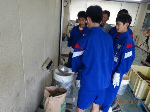 午後は砺波協立生コンさんでナマコンクリートを練らせてもらいました。