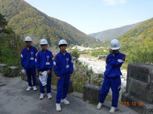スゴ谷の砂防堰堤1