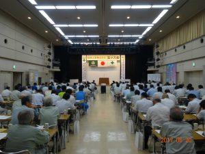 安全大会を6月20日 砺波市文化会館多目的ホールにて開催しました。