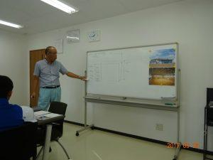 となみ協立生コンの藤原さんに、コンクリートの配合比率について教えて頂きました。