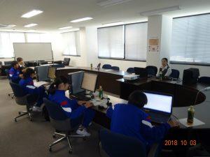 講師は建築部の和下さんと濱田さんです。